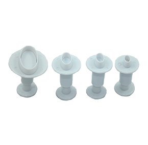 Ejetor Oval com 4 peças