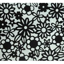 Stencil para Textura em Pasta Americana - Renda de Flores