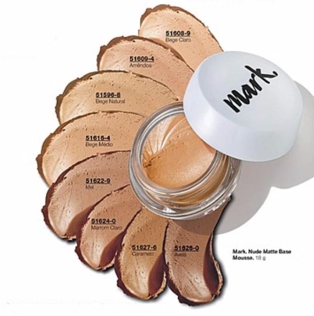 Nude Matte Base Mousse Avon Mark. 18g