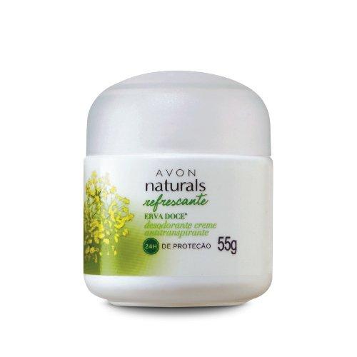 Avon Naturals Desodorante Creme Antitranspirante Erva Doce 55g 51180-0