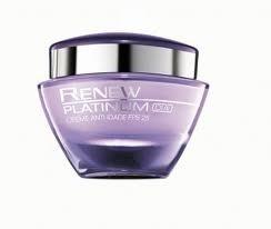 Avon Renew Platinum Dia Creme Anti-Idade FPS 25 60+ 50g 51284-9