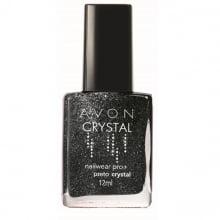 Avon Esmalte Nailwear Pro+ Preto Crystal 12 ml 52616-2