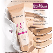 Avon Renew BB Cream+ 3 tonalidades FPS 20 50ml