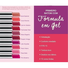 Rosa Urbano Ultra Color Revolution Batom em Gel Avon