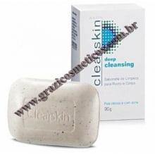 Avon Clearskin Sabonete de Limpeza para Rosto e Corpo em barra 90g 51722-6