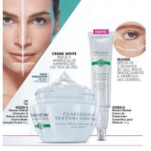 Avon Renew Clinical Clareador & Textura Uniforme Tratamento Noite