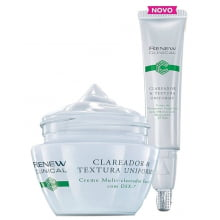 Avon Renew Clinical Clareador & Textura Uniforme Tratamento Noite