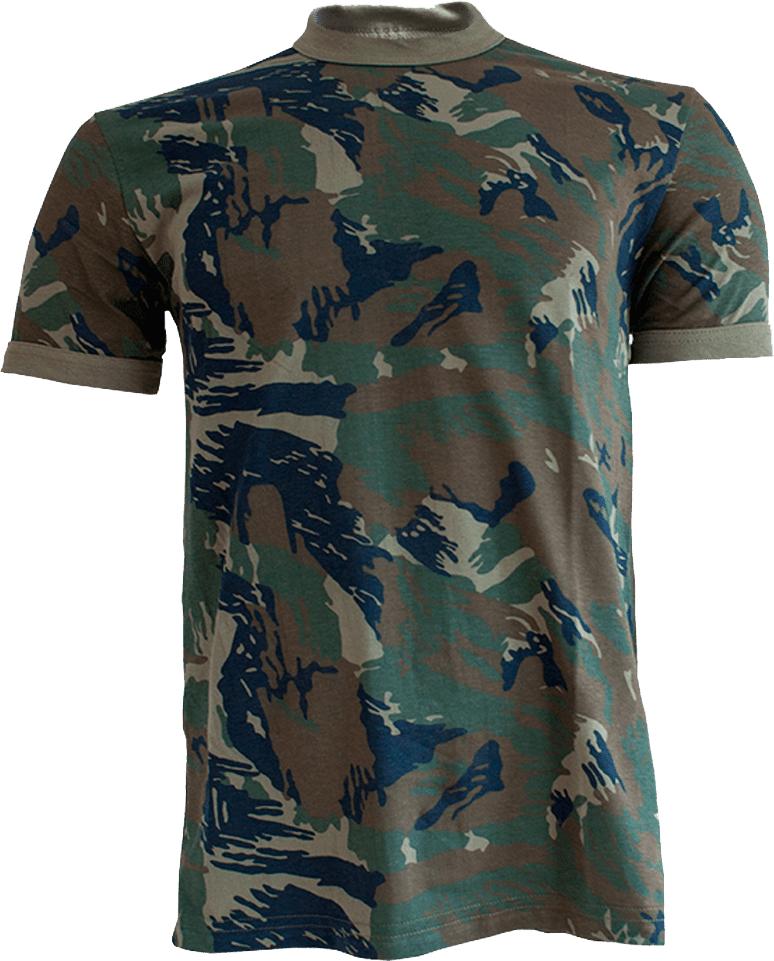 Camisa Camuflada da Aeronáutica