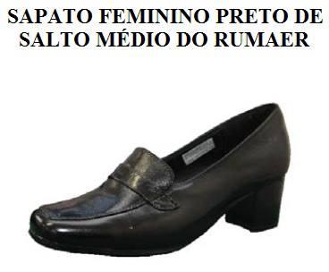 Sapato Feminino da Aeronáutica