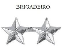 Insígnia de Brigadeiro Metálica