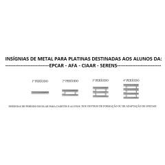 INSÍGNIAS DE METAL PARA PLATINAS