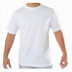 Camiseta Branca em Algodão