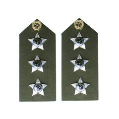 Platina de Capitão (insígnia metálica) Oficial do Exército Brasileiro (EB) RUE