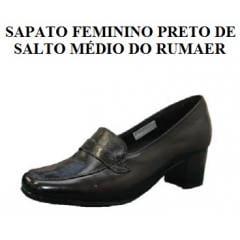 Sapato Preto Feminino da Aeronáutica