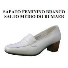 Sapato Feminino Branco da Aeronáutica