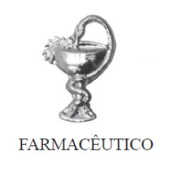 Distintivo de Farmácia Metálico