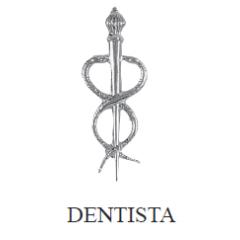 Distintivo de Odontologia Metálico