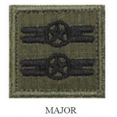 Insígnia de Major Bordada com Velcro