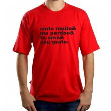 Camiseta Masculina Ho'Oponopono - Vermelha
