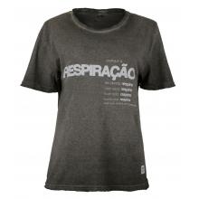 Camiseta Pratique a Respiração - Feminina