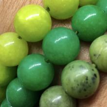 Pulseira de Jade Verde - Proteção, Boa Sorte, Amizade e Amor