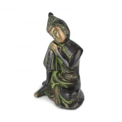 Buddha Mãos Sobre o Joelho