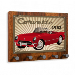 Porta Chaves Corvette