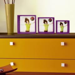 Conjunto 3 Porta Retratos Quadrados Ibiza