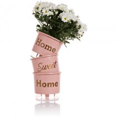 Kit Com 3 Vasos Autoirrigáveis Raiz - Médio - Linha Frases