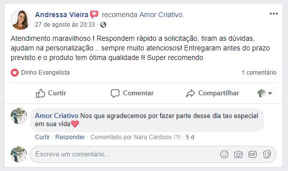 Depoimento Andressa Vieira