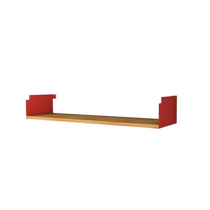 Prateleira INCwall Vermelha 60x18cm