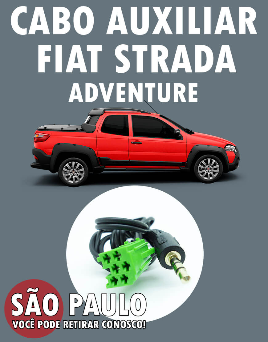 Cabo Auxiliar Fiat Strada Adventure