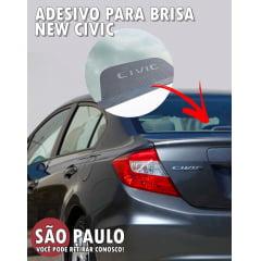 Adesivo Para-Brisa Traseiro New Civic