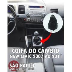 Coifa Do Câmbio New Civic 2007 2011
