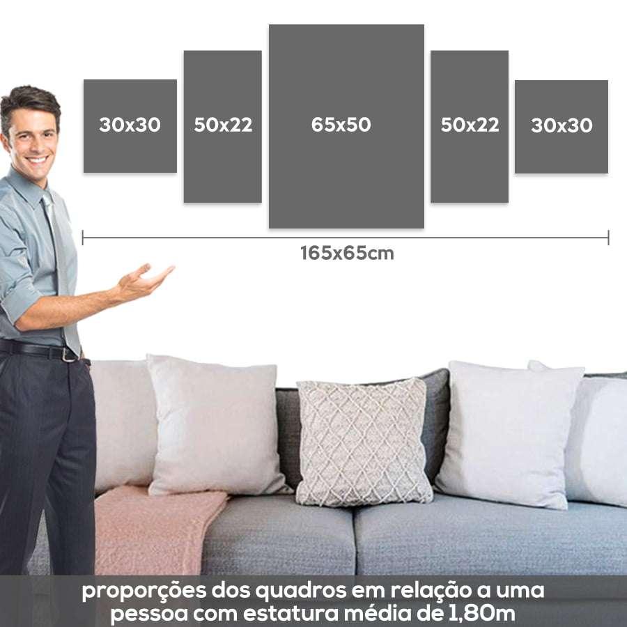 Medida quadro 165x65cm