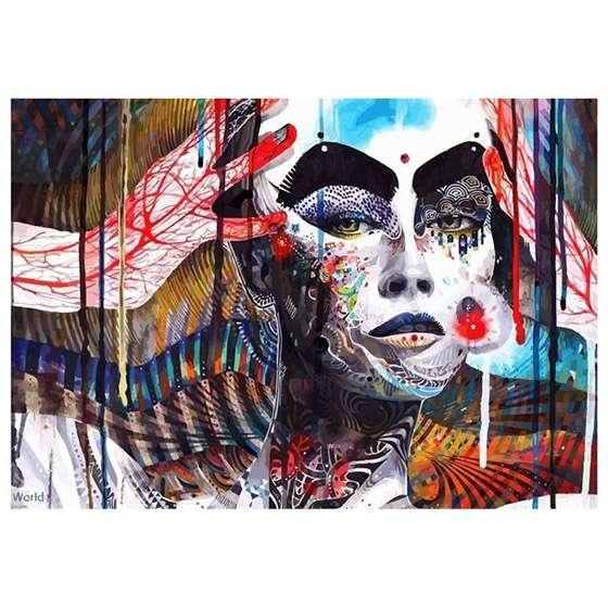 Quadro Minjae Lee Arte Moderna Decoraçao