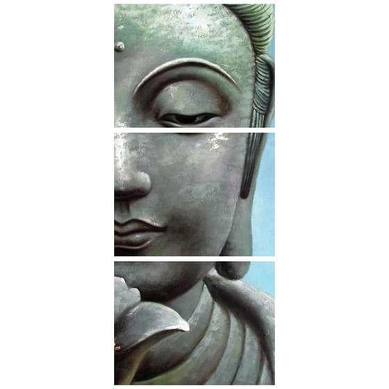 Quadro Buda Oriental Decorativo