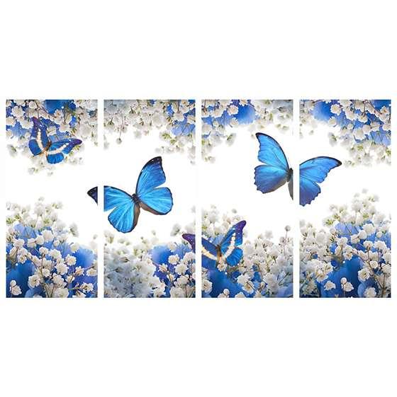 Quadro borboleta para decorar