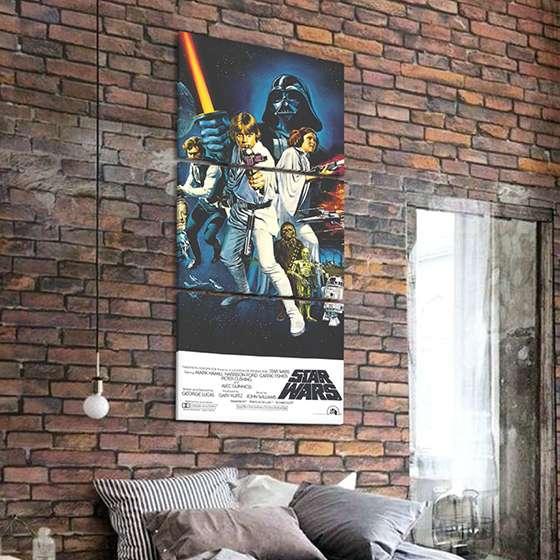 Quadro star wars poster