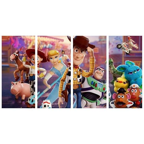 Quadro toy story poster decorativo