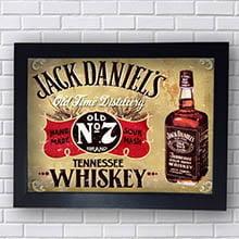 Quadro Jack Daniels Old N 7