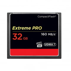 Cartão Compact Flash 32gb Sandisk Extreme Pro 160mb/s Udma