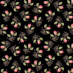 Arabesque Fundo Preto