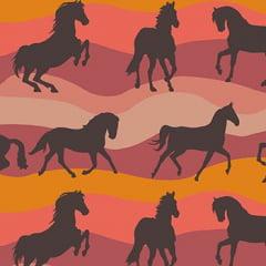 Cowboys e Índios Cavalo Marrom