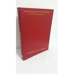 NOVO TESTAMENTO GREGO DE ACORDO COM O TEXTO MAJORITÁRIO - Maurice A. Robinson AND William G. Pierpont