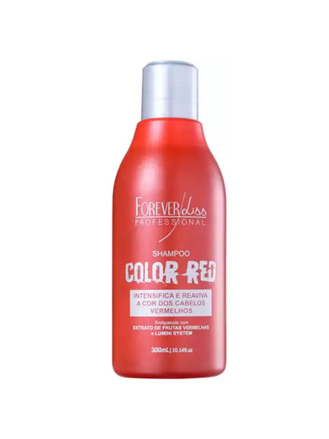 Forever Liss Professional Color Red Shampoo 300ml
