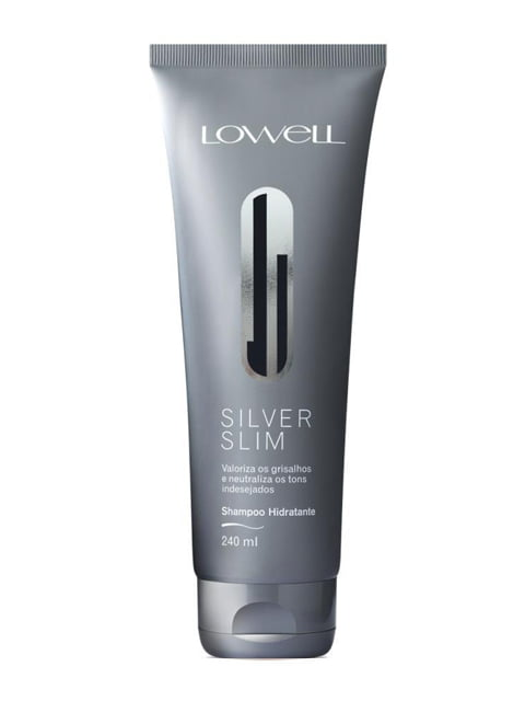 Lowell Silver Slim Shampoo 240ml