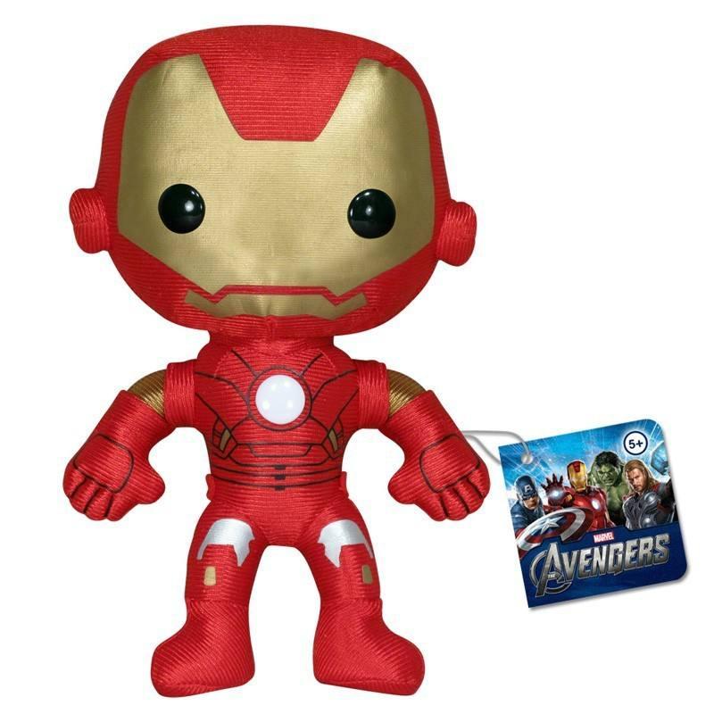 Iron Man 3 - Pelúcia  20 cm