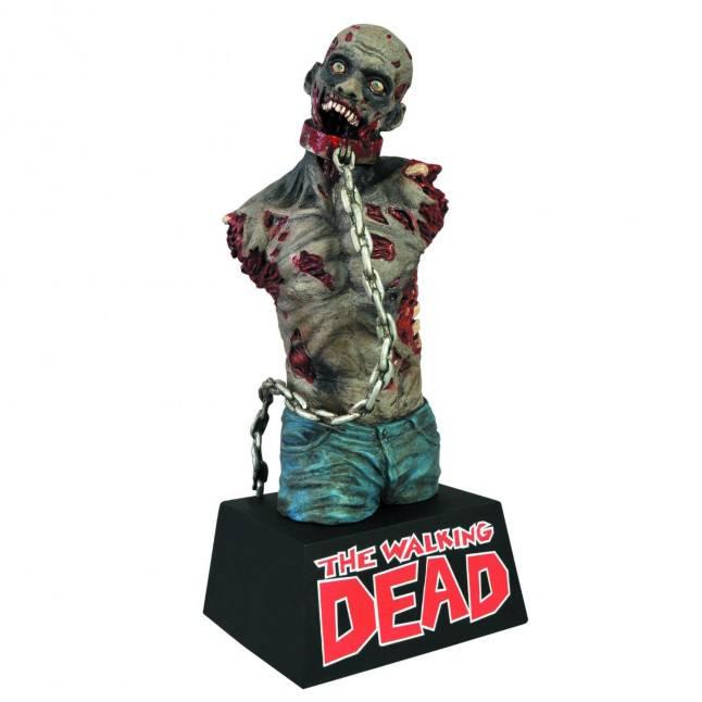Busto Cofre - Pet Zombie Michonne´s - The Walking Dead
