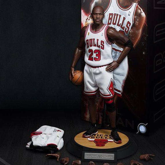 Michael Jordan 1/6 - NBA - I´m back - Home Version - Edição Limitada